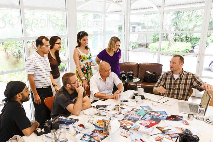 Classroom sessions take place at the Neilson Hays Library in Silom